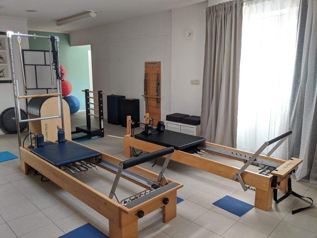 Pilates large equipment room